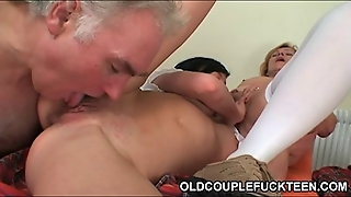 Matures, Old Young, Threesomes