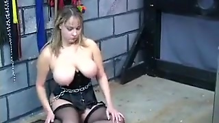 Big Slave In Lingerie