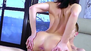 Ava Courcelles A Hornywife With Long Black Hair And An Awesome Figure Moves In Next Door. She Wants To Be A Good Neighbor And Visits This Dude That Leaves Right Next Door. They Hit It Off And Bang Each Others Brains Out.