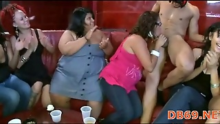 Dirty Cock Swallowing Party