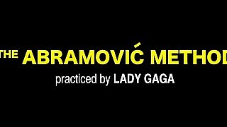 The Abramovic Method Practiced By Lady Gaga Nsfw)