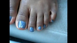Tiara Sexy Blue Toes