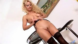 Anilos Blonde Merilyn Sucks And Fucks A Young Hard Cock Film