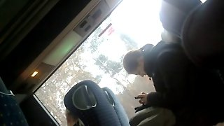 Flashing Dick In Bus - 11.2014