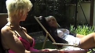 Cunnilingus, Group Sex, Mature, French
