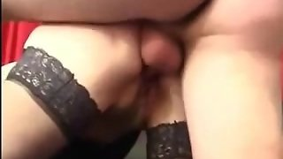 Mature In Stockings Deep Anal