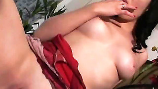 In Her Pussy Drives Soft Fingers