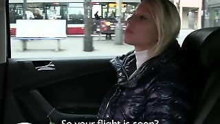 Faketaxi Blonde Babe Sucks And Fucks In Taxi