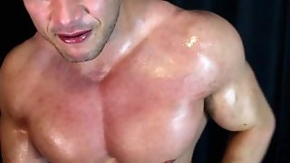 Oily Cocky Armpit Muscle Fetish