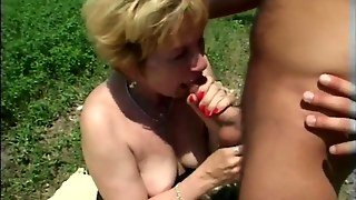 Old And Young Outdoor Sex