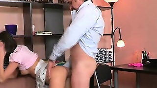 Brunette, Hardcore, Small Tits, Russian, Old Young, Teen