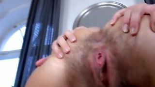 Hairy Beauty Showing Her Pussy By Troc