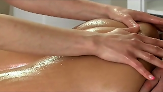Massage Rooms Zuzana Loves Her Juicy Hole Filled In Oily Threesome