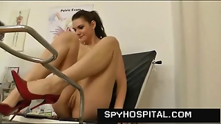 Pretty Girl Sees Her Doctor For Gyno Exam