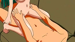 Naked Hentai Girls Sit On His Dick And Face