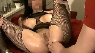 Fisting My Hot Girlfriends Destroyed Asshole