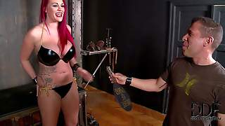 Bdsm Model Paige Delight With Long Red Hair Gets Interviewed