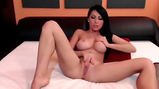 Stunning Brunette Milf In Mind Blowing Solo Action
