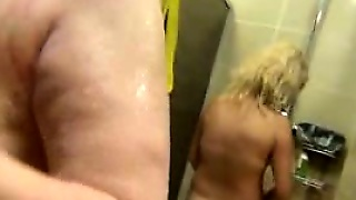 Spying Girls In Public Shower Room