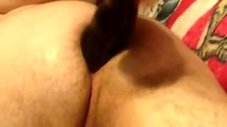 Young Cub With Big Dildo