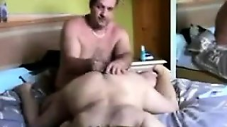 Hubby Fingers Wifes Pussy And Toying Her Ass