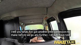 Fake Taxi Local Escort Fucks Taxi Man