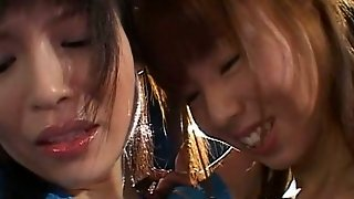 Sweet And Petite Japanese Lesbians