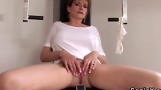 Cheating British Milf Lady Sonia Reveals Her Huge Tits
