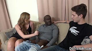 Swinger Wife Chrissy Curves Anal Cuckold Interracial