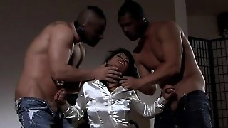 Blowjob, Threesome, Brunette, Milf, Fetish, Gangbang, Hardcore, Uniform