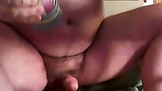 Fucking My Home Made Sex Toy