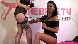 Shebang.tv - Dionne Mendez & Jasmine James Show In Hd