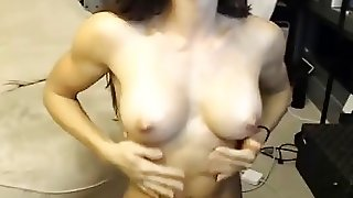 Muscle Woman Live Broadcast