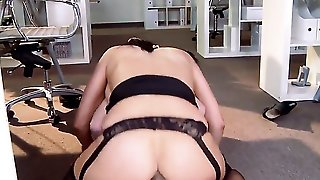 Huge Tits Of A Milf Are Bouncing