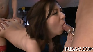Large Cock On Asian Tits, Fetish
