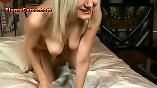 Natural Blonde Babe Fucked