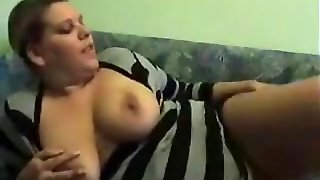 German Bbw Masturbating