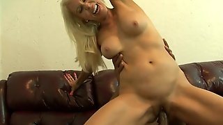 Blonde Erica Lauren Had Her Wet Hole Slammed A Hundred Times In Interracial Porn Action But Wants Some More