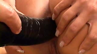 Black Leather Hungarian Anal Blonde
