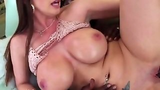 Brooklyn Chase Shot To The High With Big Cock