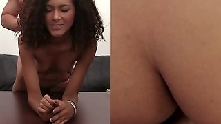Anal Sex, Brunette, Couple, Interracial, Oral Sex, Pov, Blowjob, Casting, Tattoos, Cum Shot, Hd