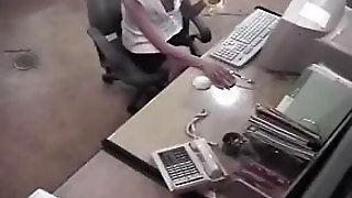 Porno Videos Hidden Security Spy Cam Caught Office Girl Masturbating