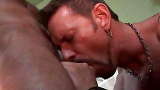 6'7'' Str8 Firefighter With 9'' Cock And Rough Around The Edges Pushed Into A Sex With Gay Pornstar