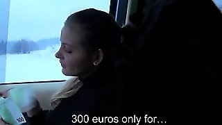 Busty Eurobabe Alexa Banged In Public In Exchange For Money
