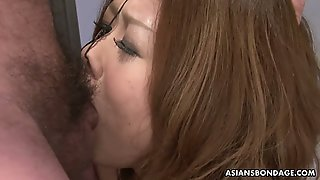 Poor Japanese Gal Hibiki Otsuki Gets Her Nostrils Stretched As Well As Her Mouth
