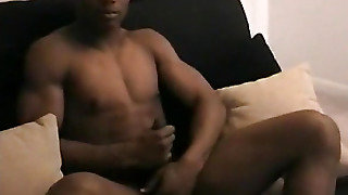 10 Inches Of Amateur Straight Black Cock