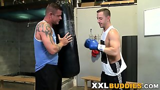 Boxer Banged With Big Rod