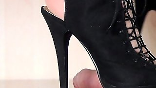 Bdsm, Blonde, Fetish, Cumshot, Foot Fetish, Femdom, Glory Hole
