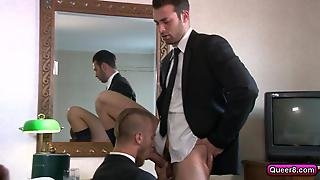 Hotel Costumer Fucks With Hotel Employee