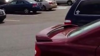 Str8 Men Cum In The Parking